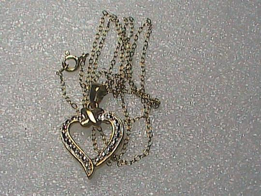 Macy's 18k Gold Over Sterling Silver Heart Necklace