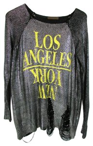The Classic Los Angeles New York Pullover Sweater