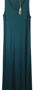 Turquoise Maxi Dress by Dylan George