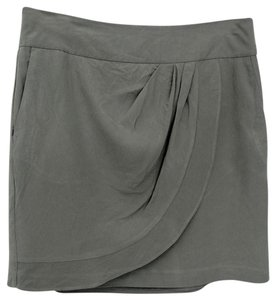 Ann Taylor LOFT Mini Skirt Grey