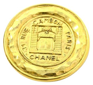 Chanel Chanel Vintage '90s Gold Coin Brooch