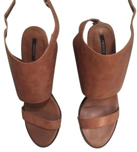 Forever 21 tan Wedges