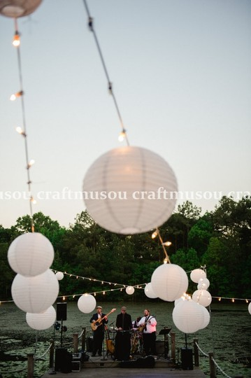 White 20 Mini Set Round Paper Lantern Led Reception Decoration