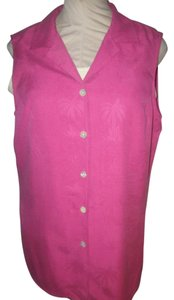 Tommy Bahama Button Down Shirt Rose