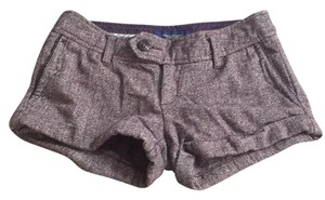 American Eagle Outfitters Cuffed Shorts Purple