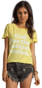 Local Celebrity T Shirt Yellow