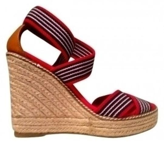 Preload https://img-static.tradesy.com/item/15925/tory-burch-red-white-and-blue-with-jute-canvas-wedges-size-us-7-regular-m-b-0-0-540-540.jpg