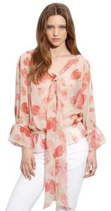 Haute Hippie Top Pink, cream