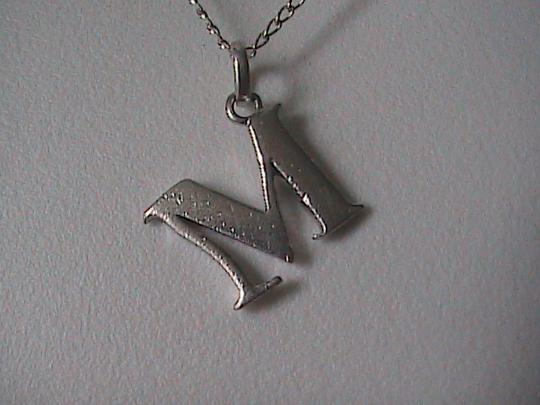 Vintage Sterling silver Initial