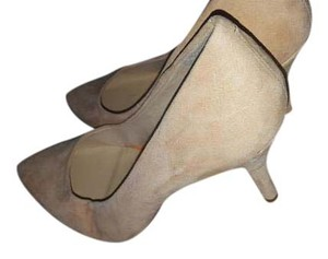 The Limited Nude Pumps