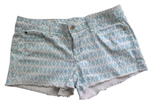 Gap Cut Off Shorts Blue and white