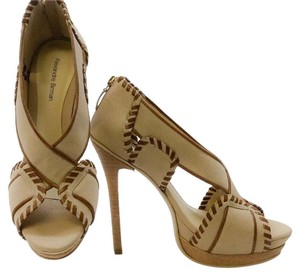 Alexandre Birman Beige brown Platforms
