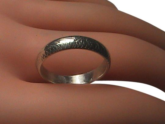 Preload https://img-static.tradesy.com/item/1592808/sterling-silver-etched-band-ring-0-0-540-540.jpg
