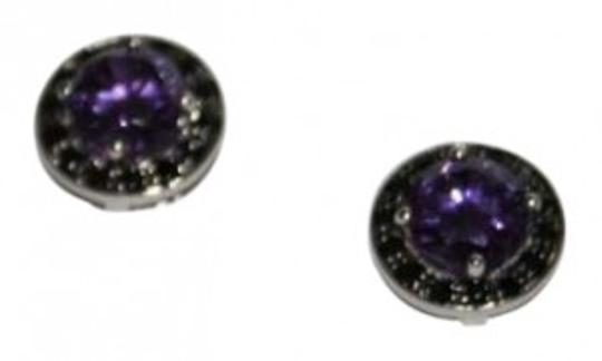 Preload https://img-static.tradesy.com/item/159281/stella-and-dot-purpleblack-classic-style-earrings-0-0-540-540.jpg