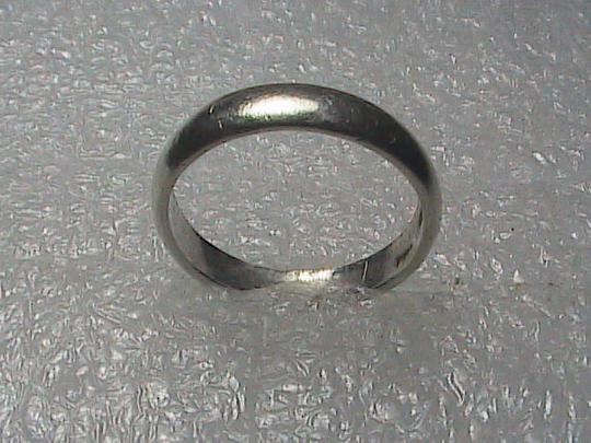 Vintage Sterling Silver Band Ring Image 3