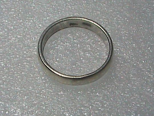 Vintage Sterling Silver Band Ring Image 6