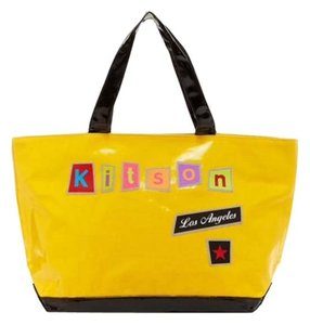Kitson Ransom Tote in yellow
