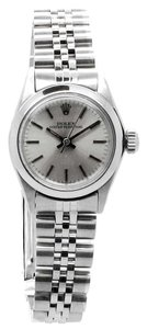 Rolex Rolex Ladies Stainless Steel Oyster Perpetual No Date REF: 67180