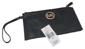 Michael Kors Mk Black Clutch
