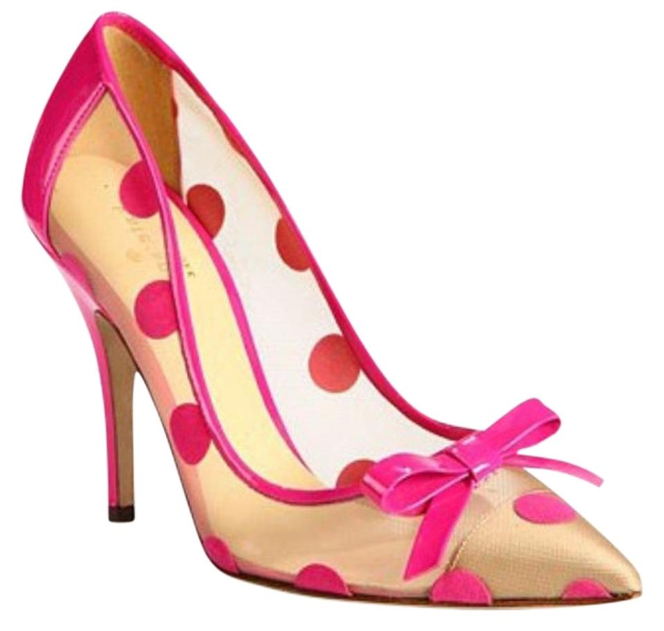 5fb310d00f60 Kate Spade Pink  lisa  Polka Dot and Come with Box Pumps Size US 9 ...