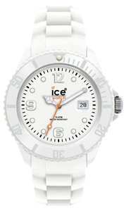 Ice Ice SIWEBBS11 Unisex Silicone Watch White Analog