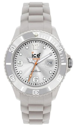 Ice Ice Unisex Silicone Watch SISRBS09 Grey Analog