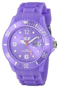 Ice Ice Unisex Silicone Watch SSLRBS11 Purple Analog