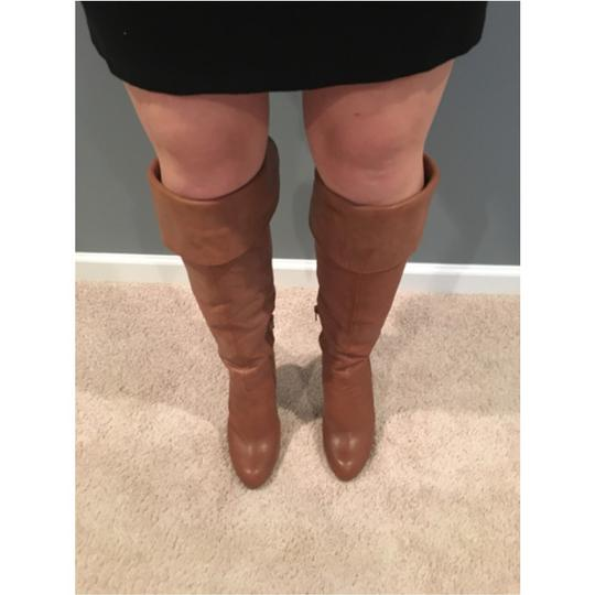 Jessica Simpson Burnt Amber Boots