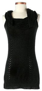 MILLY short dress Black Silk Cashmere Knit Detail on Tradesy