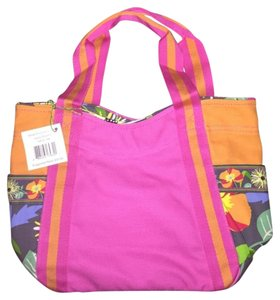 Vera Bradley Colorful Pink/orange Tote in Pink/Orange Multi