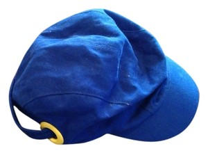Juicy Couture New juicy Couture Yellow Cobalt Blue Strap Ball Cap Hat