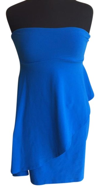 Preload https://img-static.tradesy.com/item/15930307/susana-monaco-blue-above-knee-short-casual-dress-size-4-s-0-1-650-650.jpg