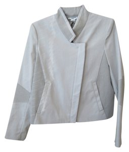 Helmut Lang Asymmetrical Gray Jacket