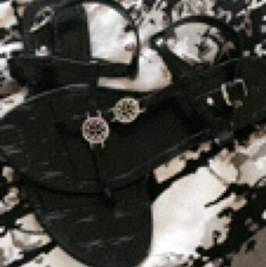 Coach New Black Sandals