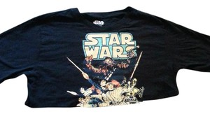 Star Wars T Shirt Black and Multi.