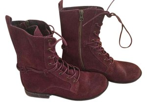 Seychelles Combat Lace Up Redwood brown Boots