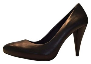 Pour La Victoire Adalene Pump Black Leather Pumps