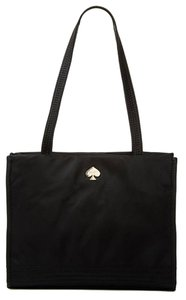 Kate Spade Gold Hardware Tote in Black