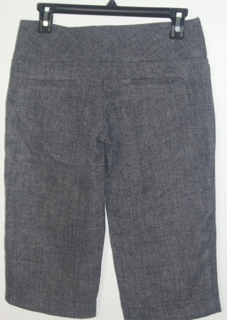Heart Moon Star Capris Grey