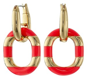 Kate Spade NWT FAST - FREE SHIPPING INCLUDED- Mod Moment Link Earrings RETAIL $58