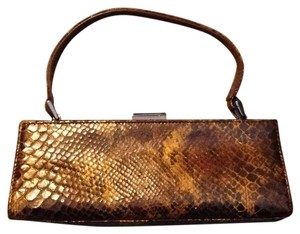 Adrienne Vittadini Brown Black Clutch