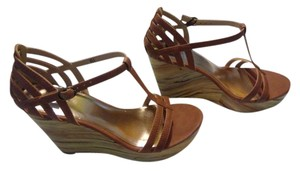 BC Footwear Sandal Platform Wedge Whiskey Sandals