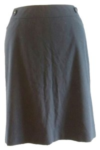 Talbots Skirt Dark Grey