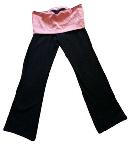 PINK Athletic Pants Pink and Black
