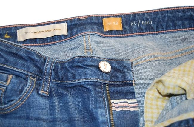 Item - Blue Medium Wash Edit Straight Leg Jeans Size 28 (4, S)