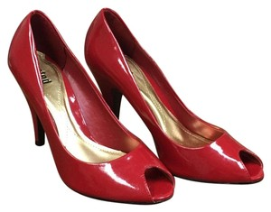 Unlisted by Kenneth Cole Sexy Red Patent Pumps