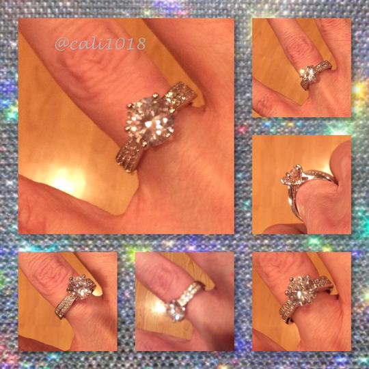 Other FLASH SALE THIS WEEKEND ONLY New 2ct Vintage NCSD Sona Diamond .925 Silver Ring 6