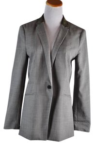 Rag & Bone Suede Collar Gray Blazer