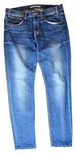 Vince Distressed Boyfriend Cut Jeans-Distressed