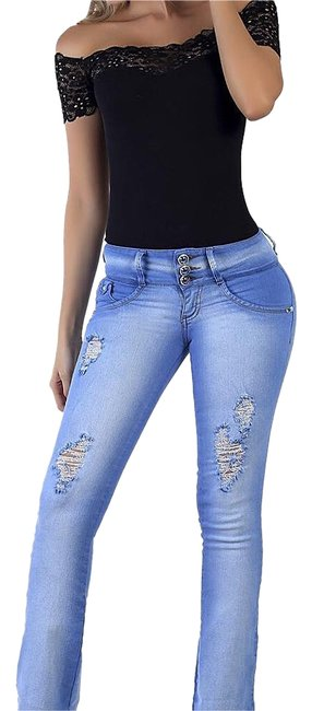 Colombian Butt Lift Jeans Boot Cut Jeans